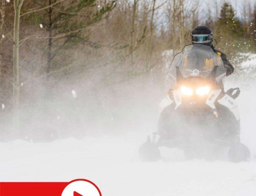 Snowmobiling Adventure in Eastern Manitoba