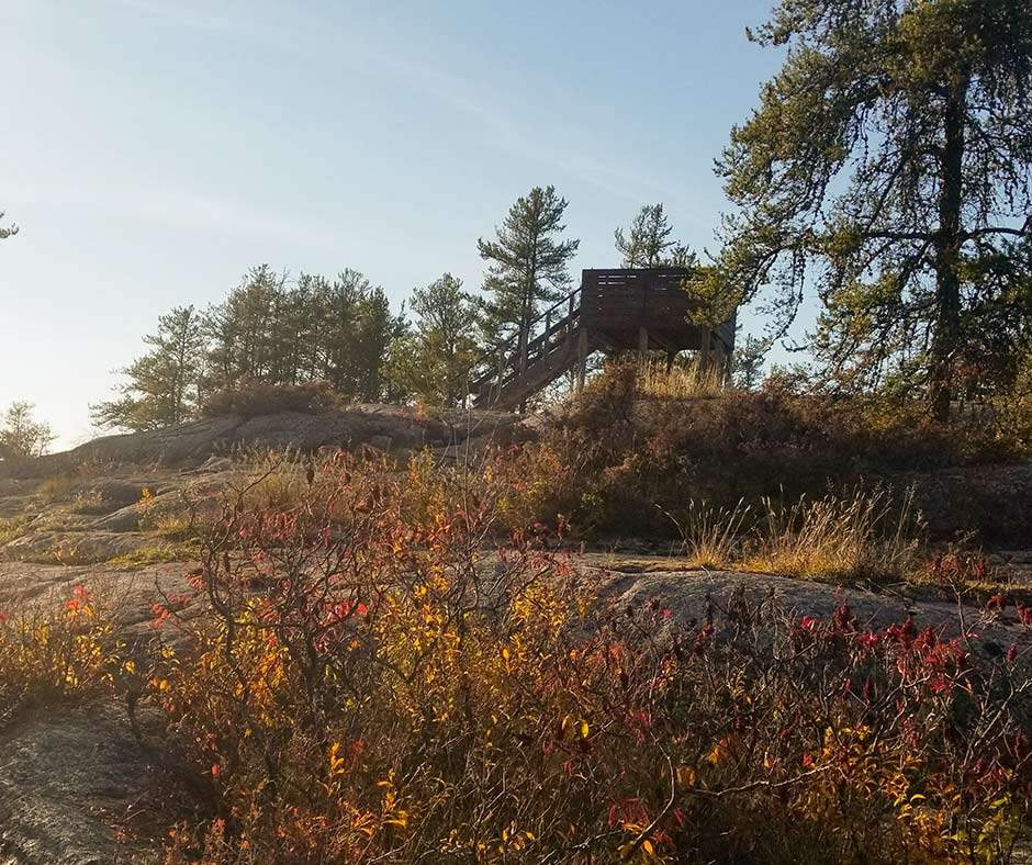 Lookout Tower at Blueberry Trail in Lac du Bonnet