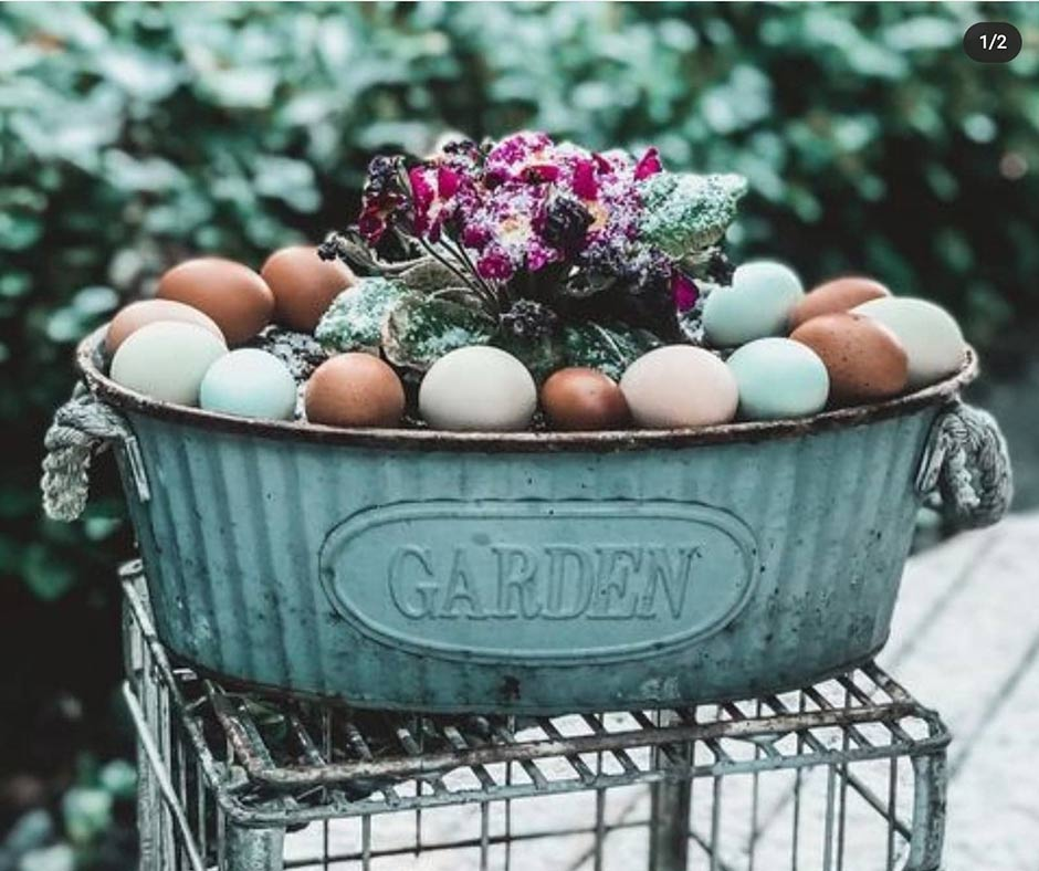 Farm Fresh Eggs available at the Pit Stop Produce Market