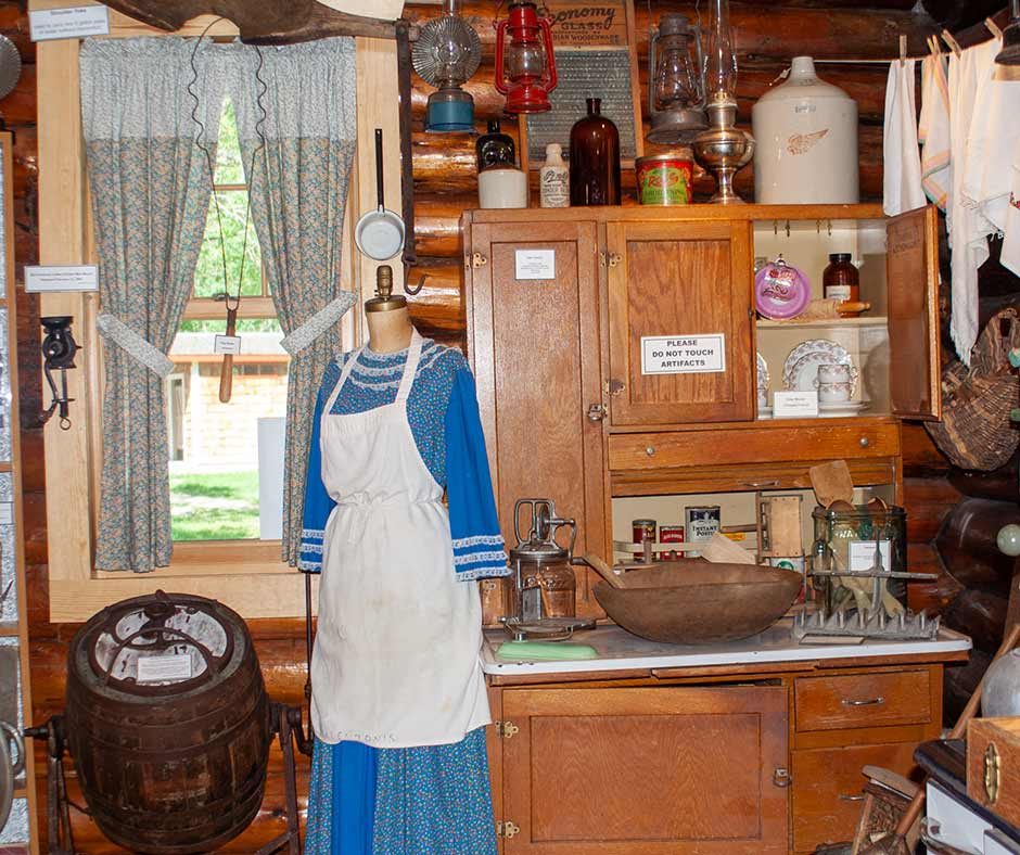 Learn about kitchens of the past at the Lac du Bonnet Museum