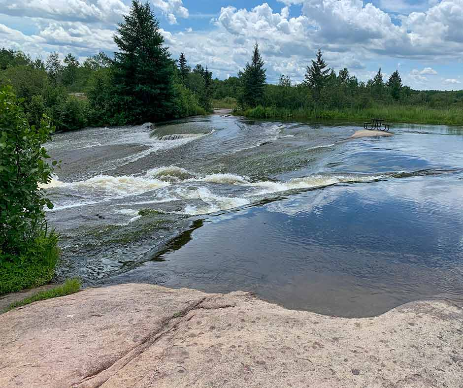 Immerse yourself in stunning views at Old Pinawa Dam Provincial Heritage Park