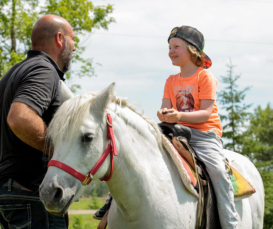 The smiles never stop at Ridge Creek Ranch