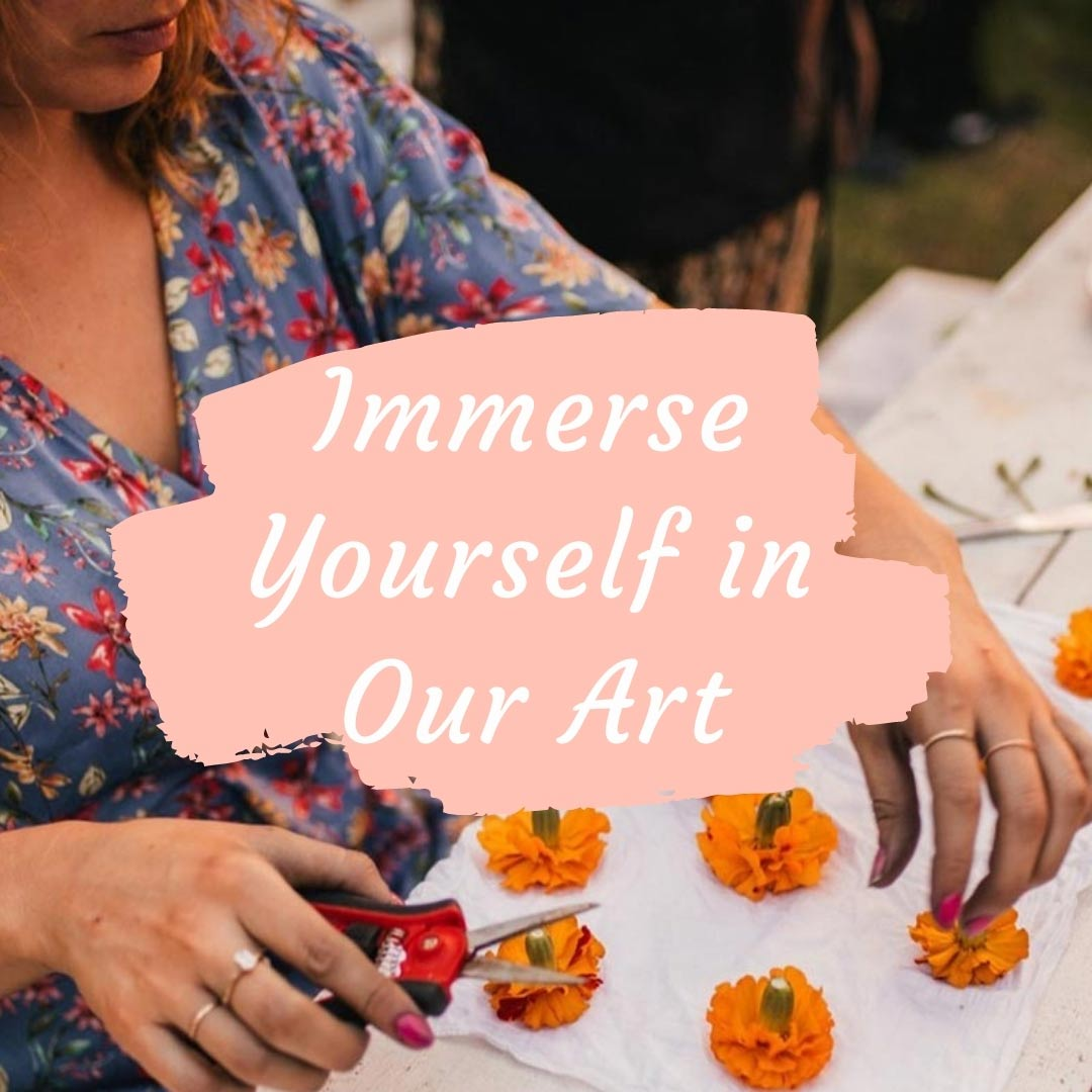 Immerse Yourself in Our Art
